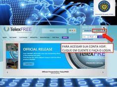 PASSO 9 - acesse sua conta cliente 99 telexfree e fale a vontade para FIXO e CELULAR