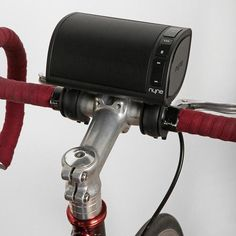 NYNE NB-200 Bike Friendly Wireless Speaker  This looks so awesome for bike rides!