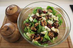 Narlı Keçi Peynirli Roka Salatası - İdil Tatari - Yemek Tarifleri