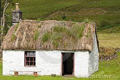 An Old Scottish Crofters Cottage Royalty Free Stock Image - Image: 20777216