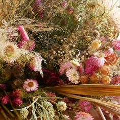 Flowers dried in the summer for winter wedding, grown in Cumbria. British Wedding, Cumbria, Dried Flowers, Wedding Flowers, Gallery, Winter, Plants, Summer, Winter Time