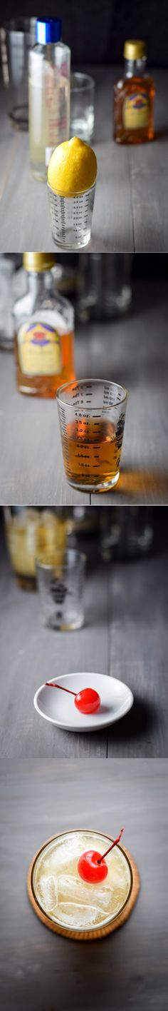 This is one delish cocktail! We have the sour mix to thank for that. (Take my advice and make your own at home. It always tastes better.) This drink is also a great way to develop a taste for whiskey, if you're not already drinking it straight! Let me know what you think of the recipe. http://ddel.co/whsky-sour
