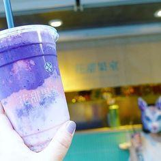 1番人気の芭比情歸何處(バービーの帰る場所)というスムージーここだけの話、1番美味しかった✨ #台湾 #台湾 #台北 #花甜果室 #ドリンクスタンド #スムージー