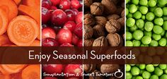 Superfoods that are in season during fall