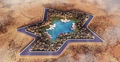#HeyUnik  Kemegahan Resor di Tengah Gurun Pasir Uni Emirat Arab Ini Bikin Bengong #Alam #Arsitektur #Desain #YangUnikEmangAsyik