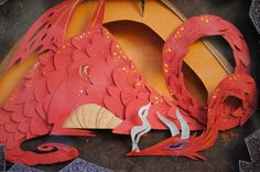 The main artistic influence for this piece is definitely going to be the work of Brittney Lee (artist of the Little Mermaid picture). Having discovered the art of papercraft in 2009 she has made qu… 3d Paper Art, Paper Artwork, Paper Crafts, Kirigami, Papercut Art, Brittany Lee, Cut Paper Illustration, Origami 3d, Mermaid Pictures