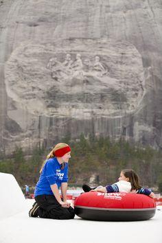 Take a snow day at Atlanta's Snow Mountain at Stone Mountain Park, Stone Mountain, GA!