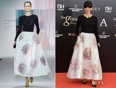 Maribel Verdu In Christian Dior - 2013 Goya Cinema Awards