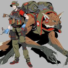 masterchew: Lycans: Veterinarian. A specialist medic role created to serve humans and lycans during operations. Their lycan partner supports them by providing protection, carrying extra supplies, and extracting the wounded. The lycan physiology requires specific knowledge, skills, and tools to work with. The Vet brings those things to the field.