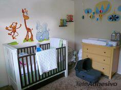 Kinderzimmer Wandtattoo Monkey