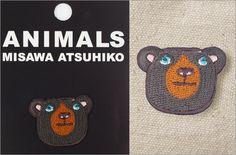 新商品のお知らせ:三沢厚彦作品集「Animals アイロンワッペン」シリーズ