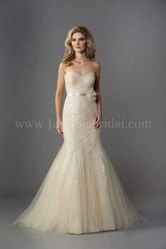 F161055 / Wedding Dresses / Jasmine Collection / Available Colours : Gold