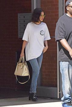 September 22: Selena leaving her apartment in New York, NY