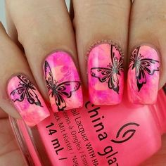 Uberchic Beauty Spring Yay Stamping Plate - Swatches & Review by Olivia Jade Nails
