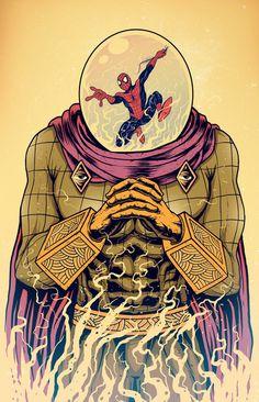 Mysterio by Azrhon