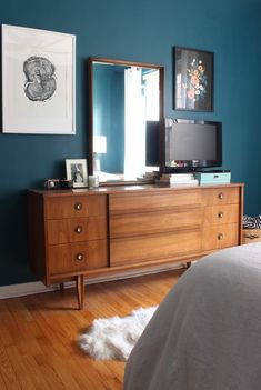 Design Evolving - New Bedroom Paint Color & Painting Lessons Learned - Design Evolving
