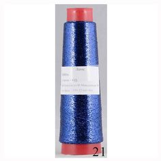 This Dark Blue Lame Metallic Thread is sparkling and beautyful. The product does not change size when washed and worn. It is sufficient to duplicate yarn for a long-sleeved blouse. Metallic Thread, Ribbon Yarn, Yarn Ball, Gold Ribbons, Sparkles Glitter, Dark Blue, Lipstick, Thread Jewellery, Jewellery Making