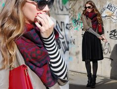 The art of layering by blogger Mireia Oller from My Daily Style | No Sin Mi Visa