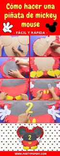 31 ideas para decorar Cumpleaños de Mickey Mouse Fiesta Mickey Mouse, Ideas, Fiestas, Mickey Party, Thoughts