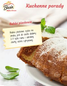 Babka piaskowa. Sweets, Beef, Cooking, Kitchen, Recipes, Food, Meat, Gummi Candy, Candy