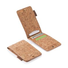 Back for a limited time! The Cork Fabric Slim Wallet will carry the basic necessities and then some.