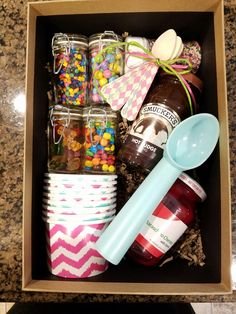 Sundae in a box - sibling Christmas gift/KK