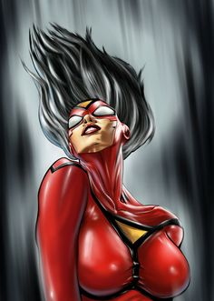 Spider-Woman by ashasylum.deviantart.com