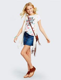 Girls' Outfits -tween Outfits For Girls   Justice- yet another outfit she is wearing