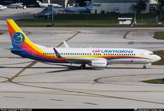 9Y-JMC Air Jamaica Boeing 737-8Q8(WL) taken 15. Feb 2014 at Fort Lauderdale - Hollywood International (FLL / KFLL) airport, United States by...