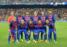 Equipos de fútbol: BARCELONA contra Celtic Glasgow 13/09/2016