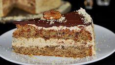 Diós torta rumos krémmel. Nyűgözd le vele a vendégeket - Blikk Rúzs Poppy Cake, Cherry Cake, Cake Cookies, Vanilla Cake, Tiramisu, Sweets, Ethnic Recipes, Cakes, Dios