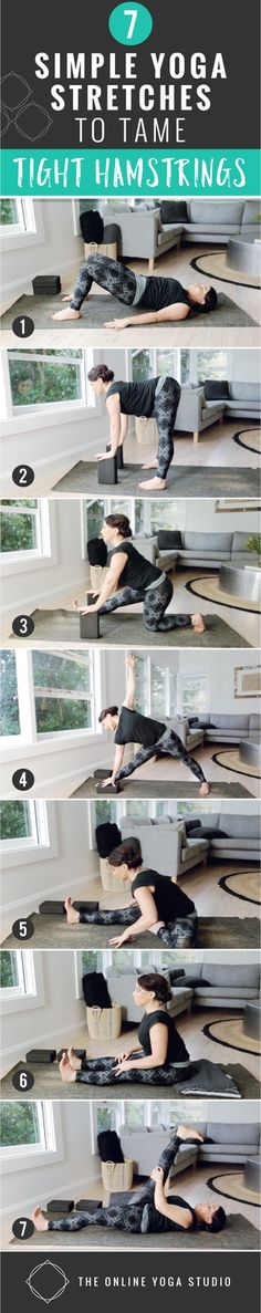 7 Simple Yoga Stretches to Tame Tight Hamstrings — The Online Yoga Studio