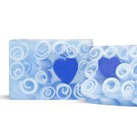 Blue Heart MP Soap Recipe - WholesaleSuppliesPlus