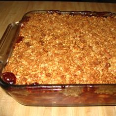 Apple Cranberry Crisp Allrecipes.com