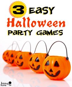 Easy Halloween Party Games  Great ideas!