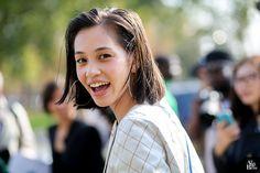 Kiko Mizuhara after Chanel défilé streetstyle model off duty fashion blog © Alix de Beer #alixdebeer #photographer #streetstyle #streetlook #inspiration #lifestyle #adcampaign #mode #vogue #paris #fashionweek #pfw #kiko #model #modeloffduty