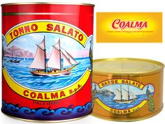 From an ancient #tradition the #Coalma salted #tuna was born! #vintage #tasty