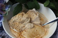 Hummus, Mashed Potatoes, Delicious Desserts, Oatmeal, Food And Drink, Ice Cream, Keto, Snacks, Vegan