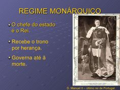 A queda da monarquia.  O ultimo tei de Portugal