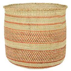 Amazon.com: Woven African Iringa Storage Basket - Large: Home & Kitchen