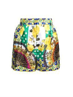 Multi-print shorts | Dolce & Gabbana | MATCHESFASHION.COM