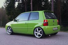 VW Lupo green