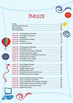 HISTÓRIAS BÍBLICAS PARA CRIANÇAS - O LIVRO DE GÊNESISDisponível em: w… Kids Church, Holidays And Events, Word Of God, Professor, Homeschool, Bible, Journal, Education, Words