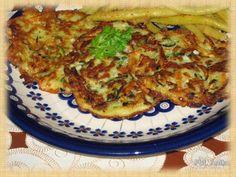 Domowa kuchnia Aniki: Placki z cukinii i ziemniaków Quiche, Vegan, Breakfast, Food, Morning Coffee, Quiches, Meals, Yemek, Morning Breakfast
