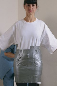 Quick and Easy Duct-Tape Dress Form - Threads