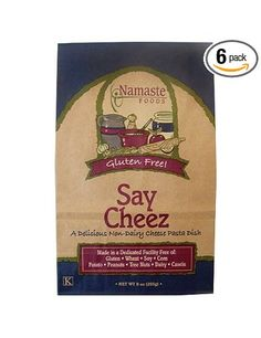 Namaste Foods, Gluten Free Say Cheez Pasta Dish, 9-Ounce Bags (Pack of 6): Amazon.com: Grocery & Gourmet Food - 27.63