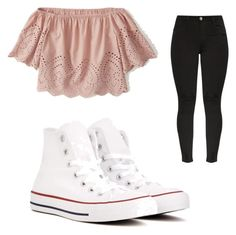 """Untitled #190"" by briannaxbolivar on Polyvore featuring Abercrombie & Fitch and Converse"