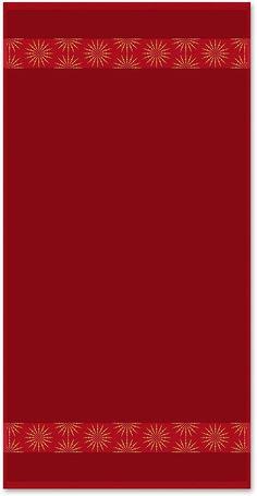Unifarbenes Walkfrottierhandtuch aus dem Hause Dyckhoff mit dezenter und edel aussehender Sternenbordüre. Die schlichten und doch sehr ansprechenden Handtücher »Sterne« ergänzen Ihr Badezimmer in wunderbarer Art und Weise. Die tolle Farbauswahl lässt dabei keine Wünsche offen. Der weiche Walkfrottee wird aus 100% Baumwolle hergestellt, ist sehr hautfreundlich und sorgt für ein angenehm wohliges...