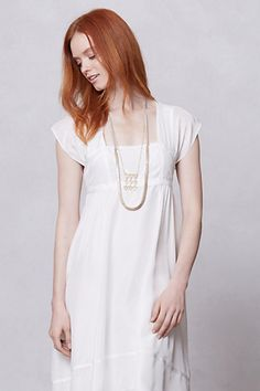 Sattva Dress #anthropologie.... too cute with a jean jacket!