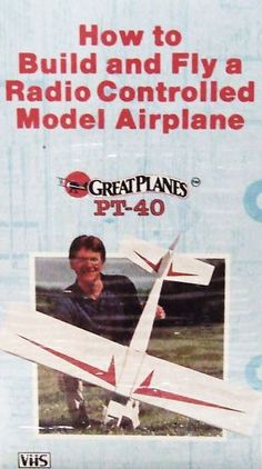 How to Build and Fly A Radio Controlled Model Airplane VHS Flying Hobby Craft Nitro Boats, Radio Controlled Aircraft, Boat Radio, Hobby Shop, Hobby Town, Electric Boat, Finding A Hobby, Cheap Hobbies, Model Airplanes